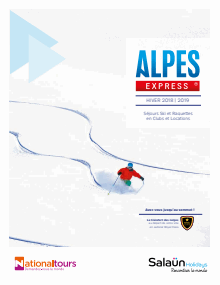 Ouvrir la brochure flash Alpes Express 2018-2019