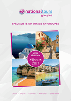 Ouvrir la brochure flash Selection Sejours 2017